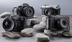 กล้อง Mirrorless และกล้อง DSLR