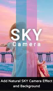 ลองกันหรือยังกับ แอพพลิเคชั่น Sky Camera Effect : Sky effect