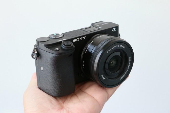 ด้านหน้ากล้องรุ่นSony A6000