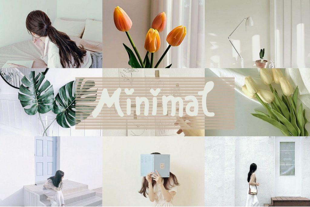 minimal กับ เพจถ่ายภาพ