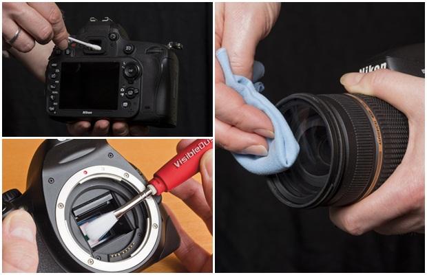 การทำความสะอาด-กล้อง