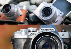 กล้อง Mirrorless 3 รุ่น-รวมรุ่น